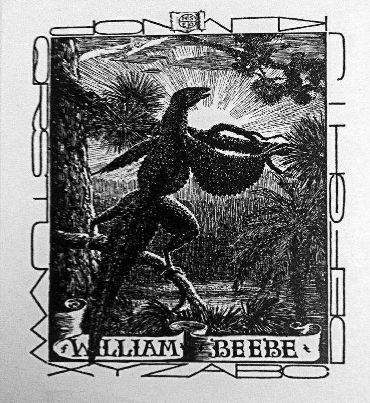 William Beebe Book Plate