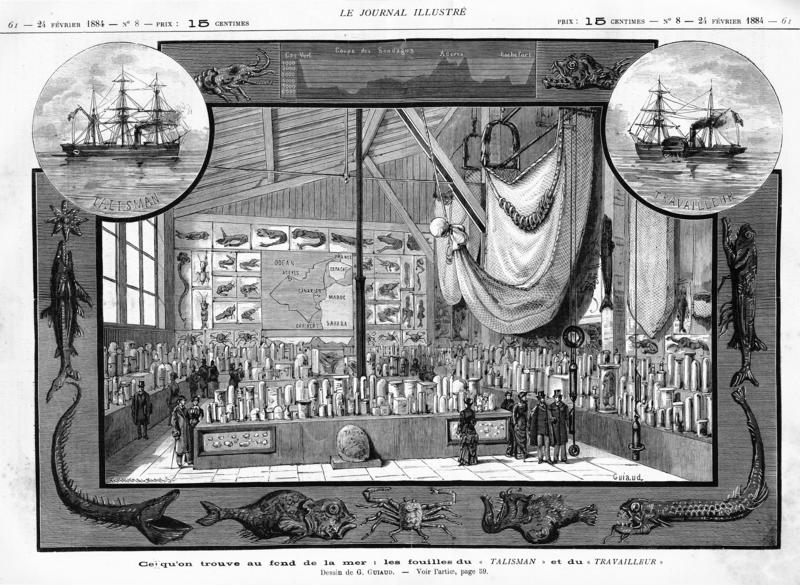 The 1884 Exposition of the Travailleur and the Talisman